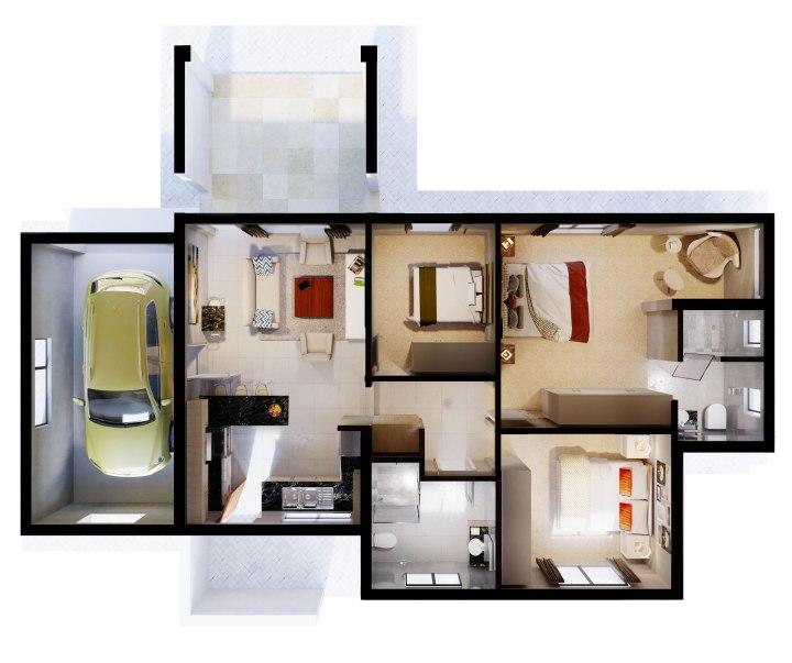 Plan view & Sections – arcvisa studio