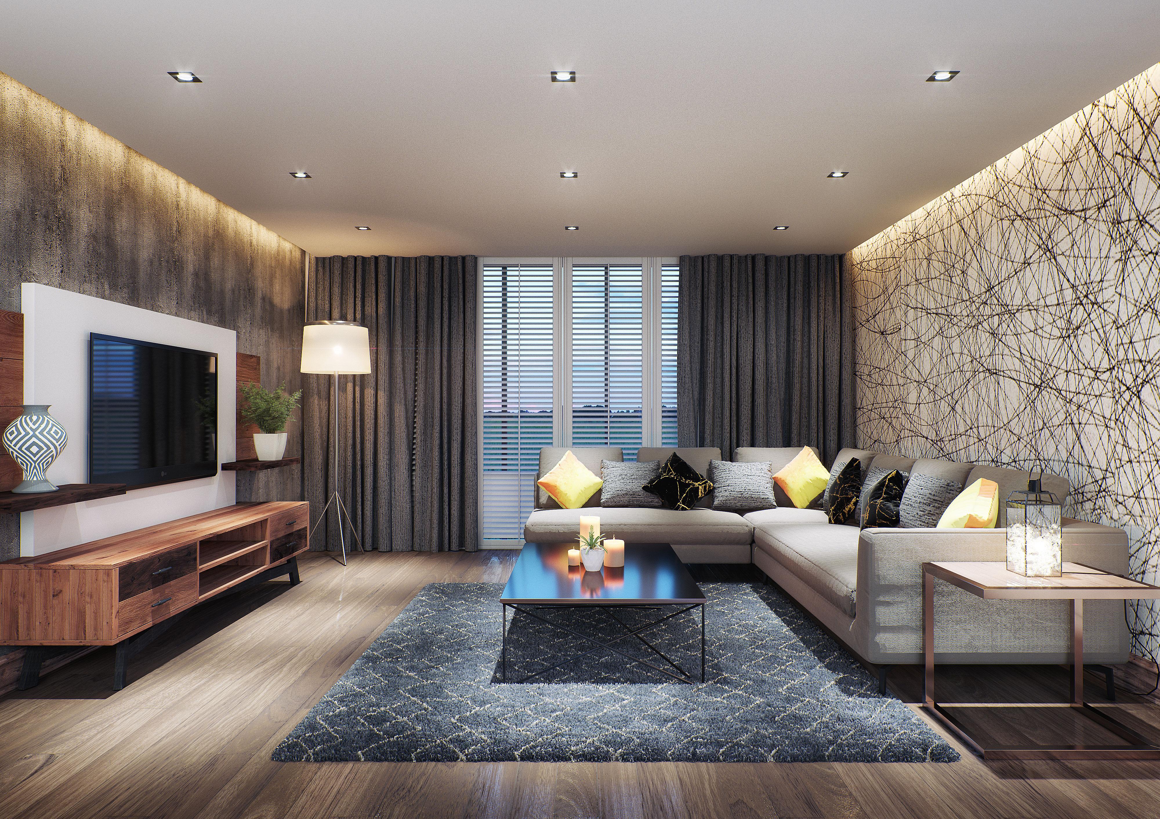House Ntuli, Pretoria, South Africa. Interior Design By Arcvisa Studio.