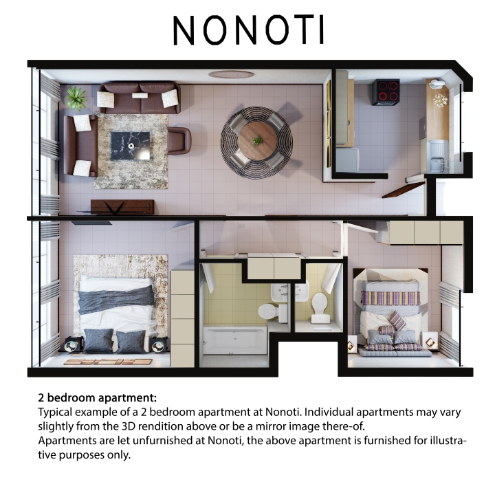 Nonoti 2 bedroom